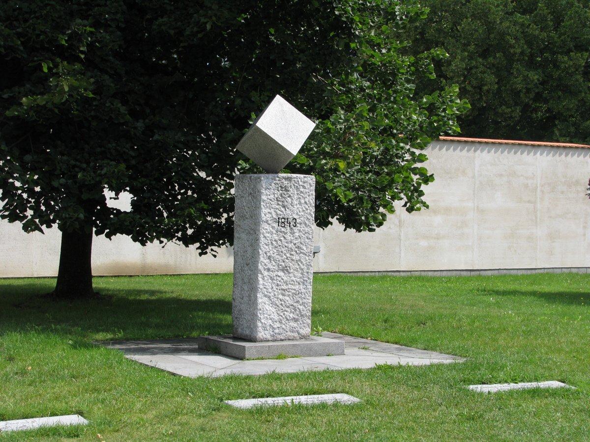 pomník kostky cukru Město Dačice