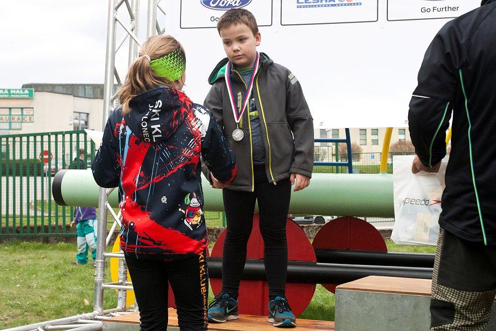Čtyři medaile pro TCV na aquatlonu v Jablonci nad Nisou