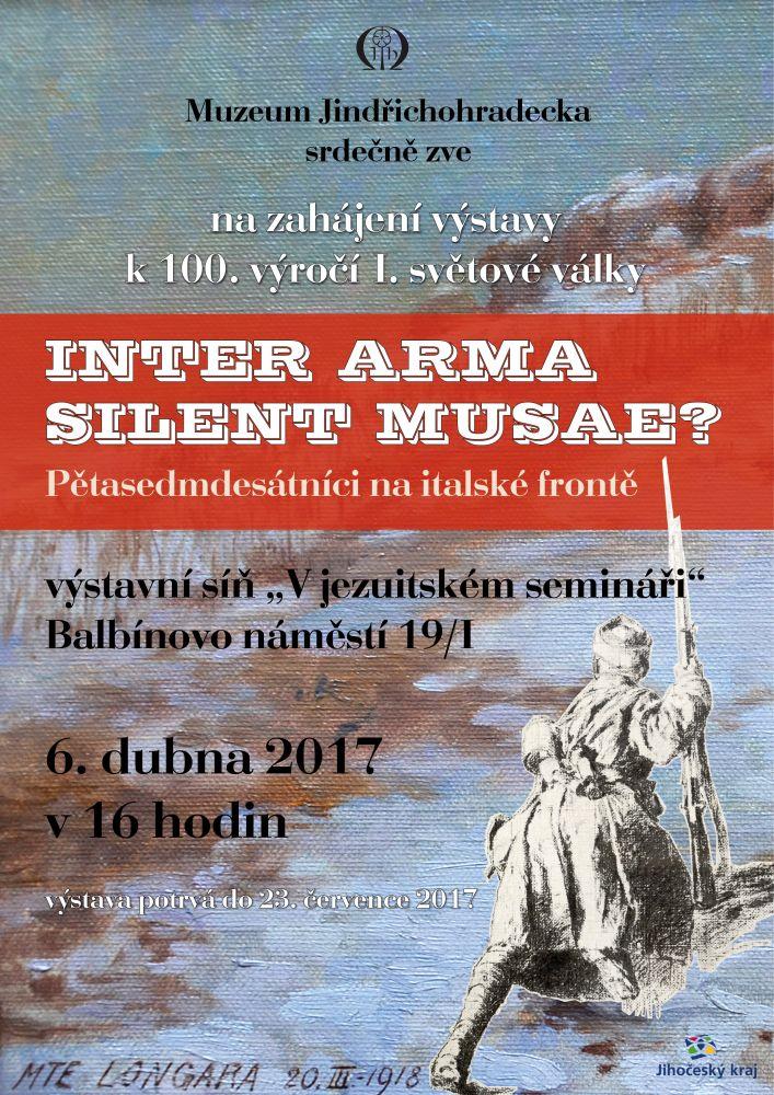 "Výstava ""Inter Arma Silent Musae?"" podruhé"