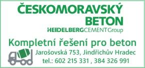 Českomoravský beton – Jindřichův Hradec