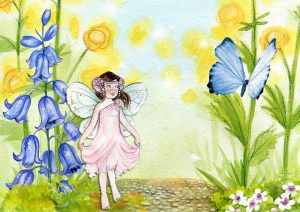 víla pohádka fairy-1206835_1280 Zdroj: Pixabay.com - CC0 Public Domain