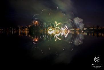 Fotil Martin: Květnový ohňostroj v Jindřichově Hradci