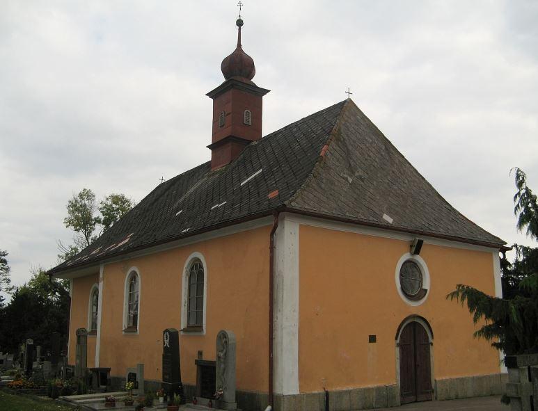 Hřbitovní kaple sv. Jiljí v Žirovnici