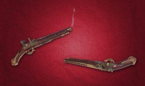 historické zbraně pistol souboj vintage-gun-1750735_1280
