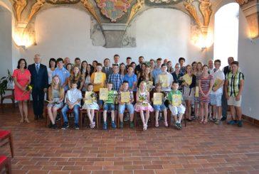 Město Jindřichův Hradec ocenilo šikovné žáky