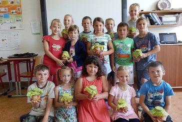 Děti z Lodhéřova běželi Olympijský běh a oslavili Den otců
