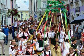 Fotila Amálie: Folklorní festival jihočeských národopisných souborů