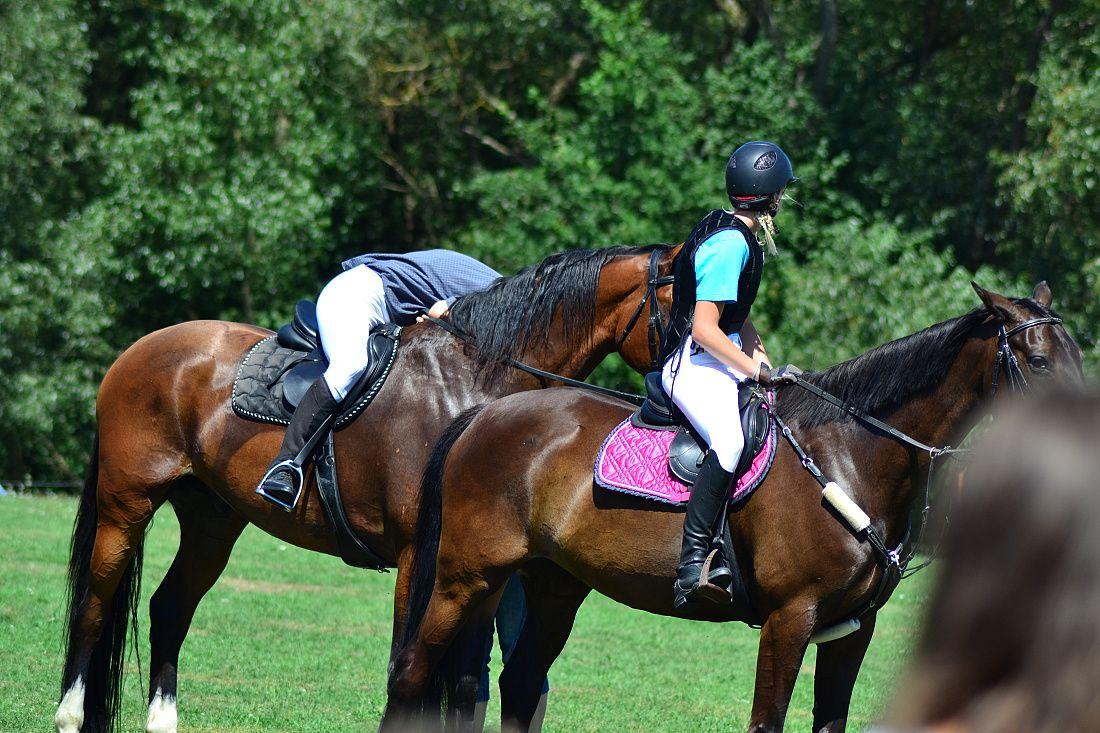 Fotila Amalie: Jezdecke hry v Jindrisi