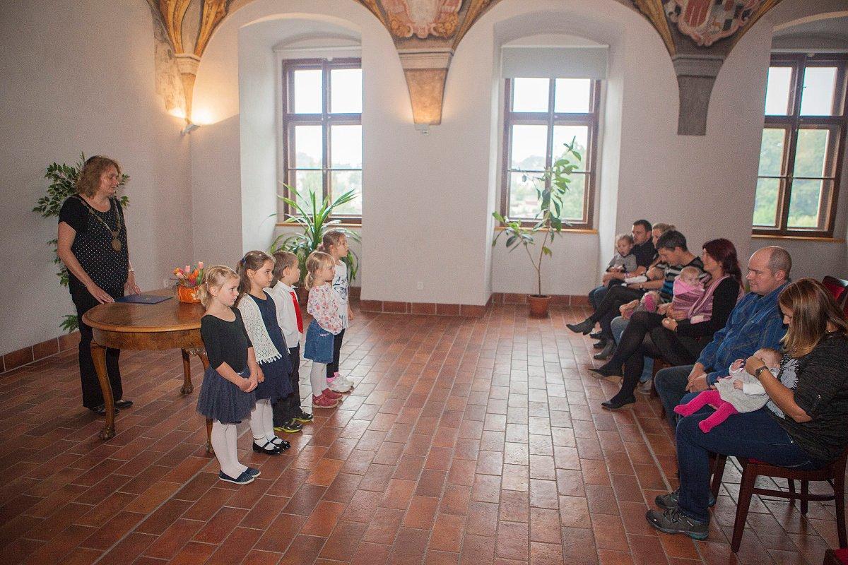 Druhé záříjové vítání občánků (Foto: Martin Kozák)
