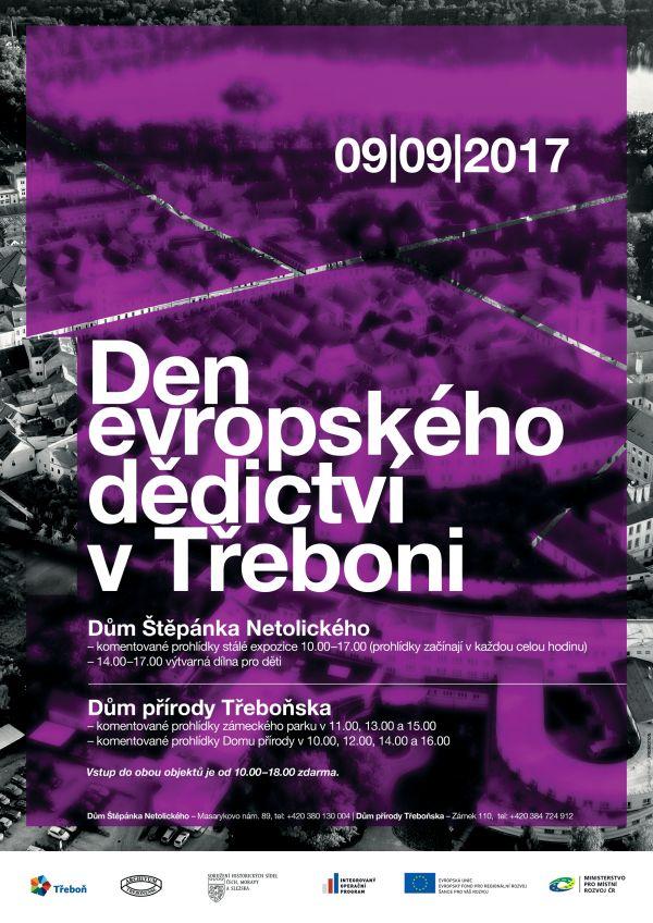 Den evropského dědictví vTřeboni