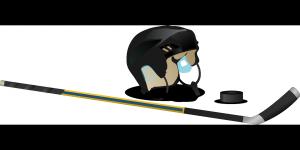 Hockey hokej hokejka puk helma