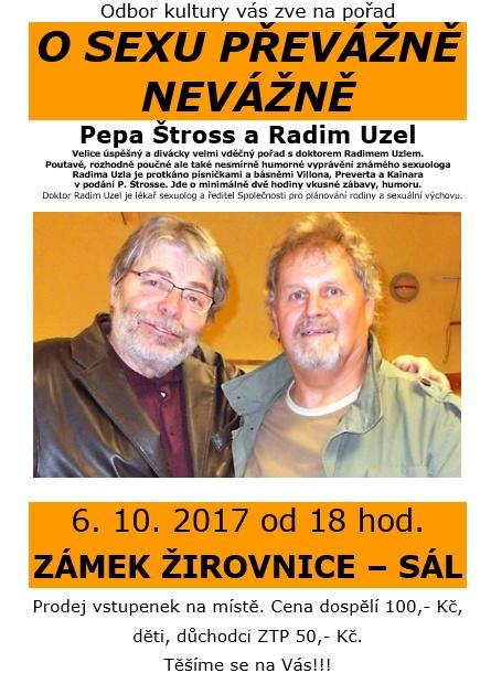 O sexu převážně nevážně - Pepa Štross a Radim Uzel
