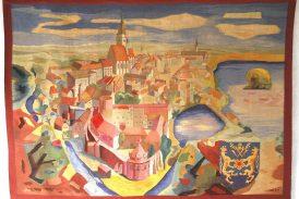 Návrhy tapiserií ve sbírce Muzea Jindřichohradecka