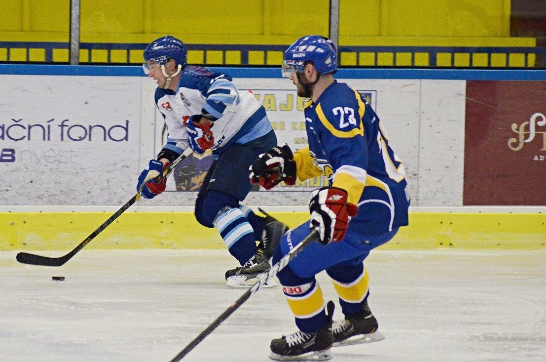HC Vajgar pokořil Spartak Soběslav - Foto: David Regásek