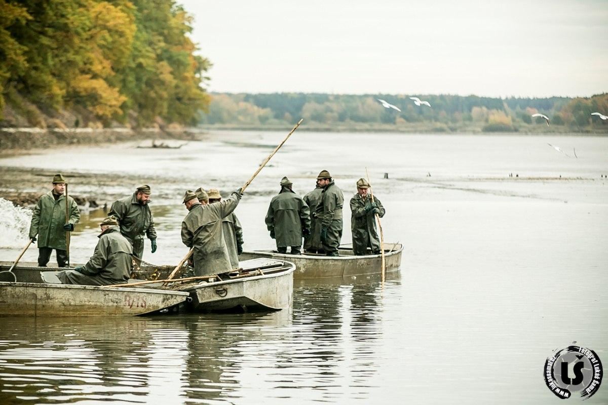 Fotil Lukáš: Výlov rybníka Rožmberk