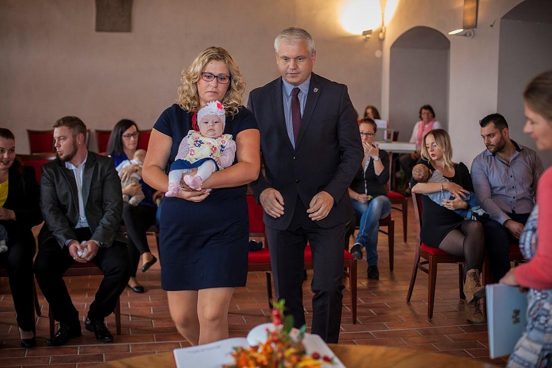 Říjnové vítání občánků (Foto: Martin Kozák)