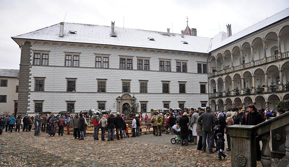 Adventní dny na zámku a vánoční trhy ve městě