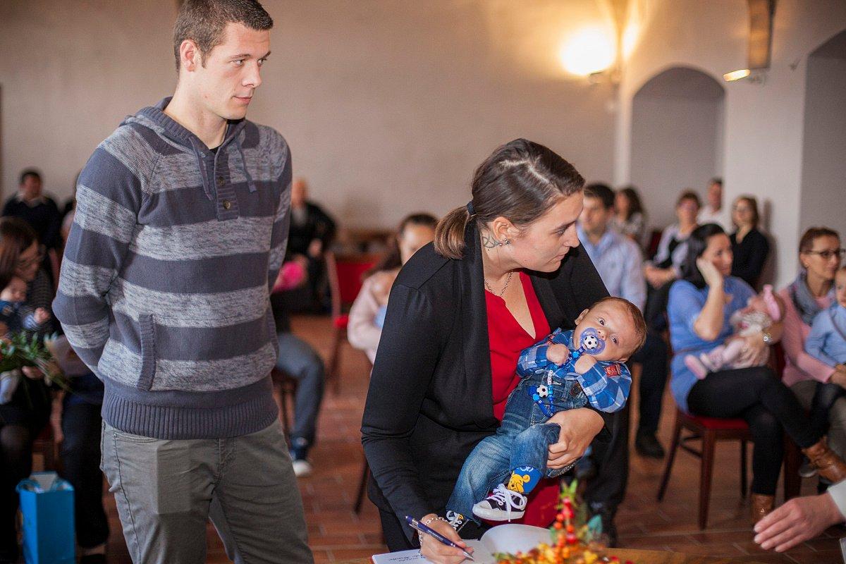Listopadové vítání občánků (Foto: Martin Kozák)
