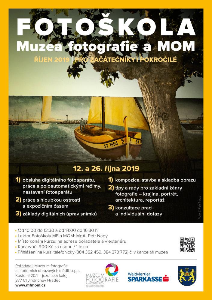 Fotoškola Muzea fotografie a MOM