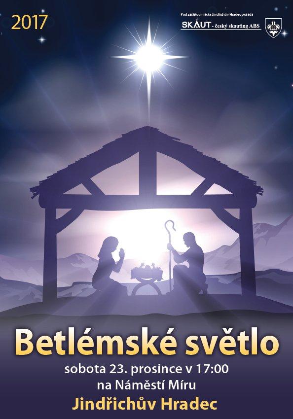 Skauti přivezou do Jindřichova Hradce Betlémské světlo
