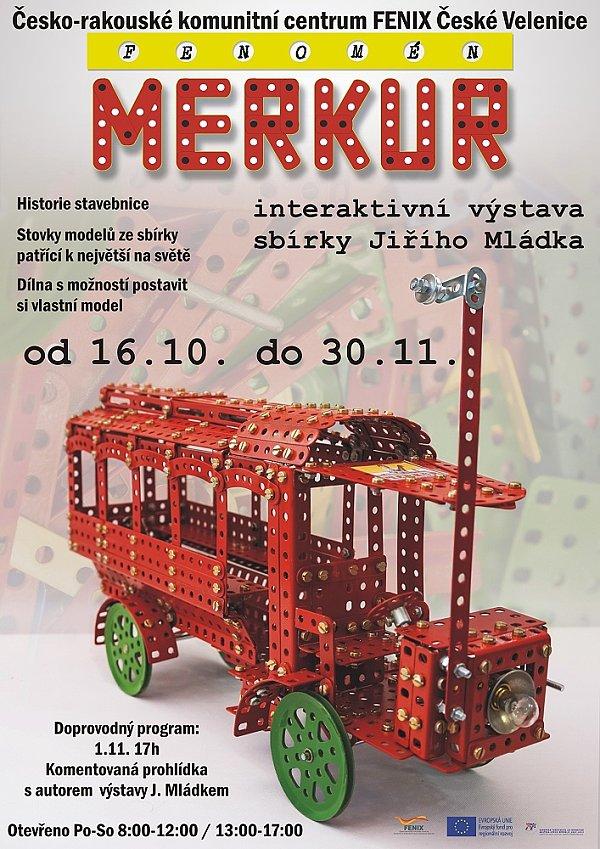 Fenomén MERKUR - interaktivní výstava