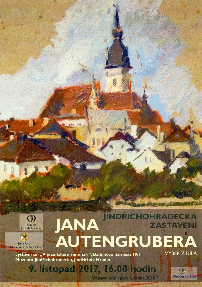 Jindřichohradecká zastavení Jana Autengrubera