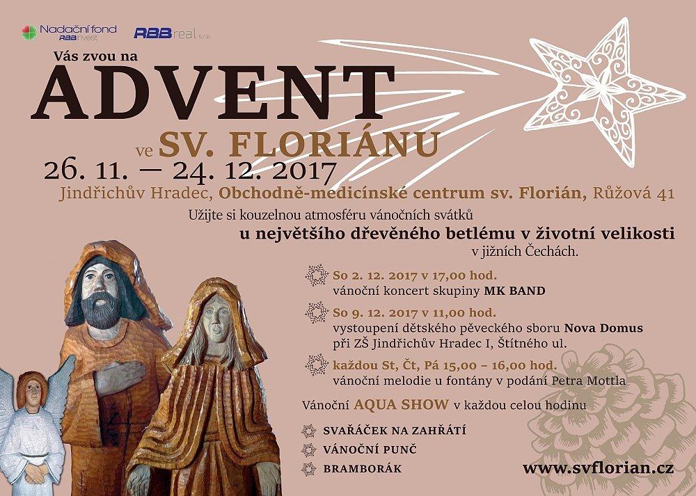 V neděli začíná advent ve sv. Floriánu