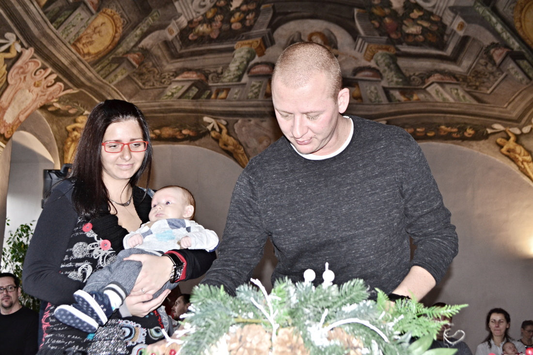Prosincové vítání občánků (Foto: Amálie Buřilová)