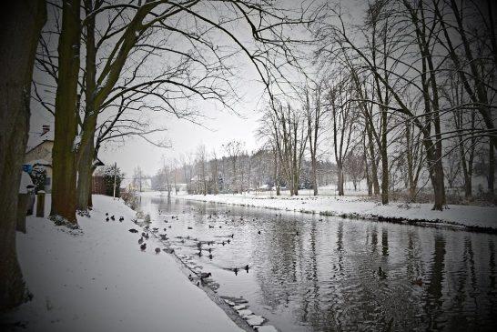 Fotila Amálie: Konec podzimu a začátek zimy v Jindřichově Hradci