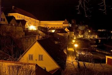 Noční Jindřichův Hradec (FOTO: Lukáš Jirků)