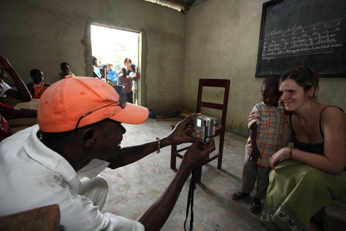 Vanocni sbirka pro Afriku vKolonial caffee
