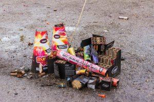 Pyrotechnika nový rok petardy