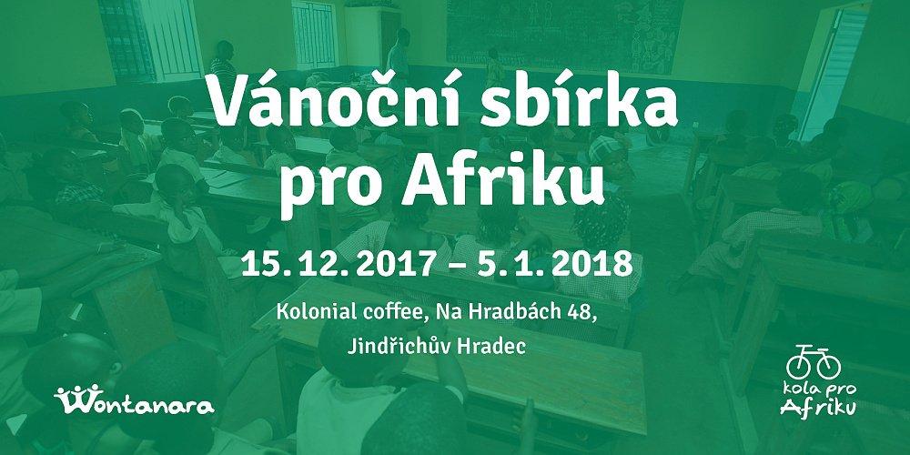 Vánoční sbírka pro Afriku vKolonial caffee