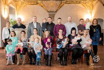 Lednové vítání občánků (Foto: Martin Kozák)
