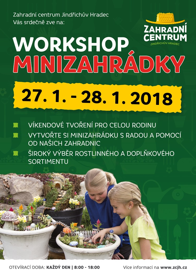 Workshop minizahrádky