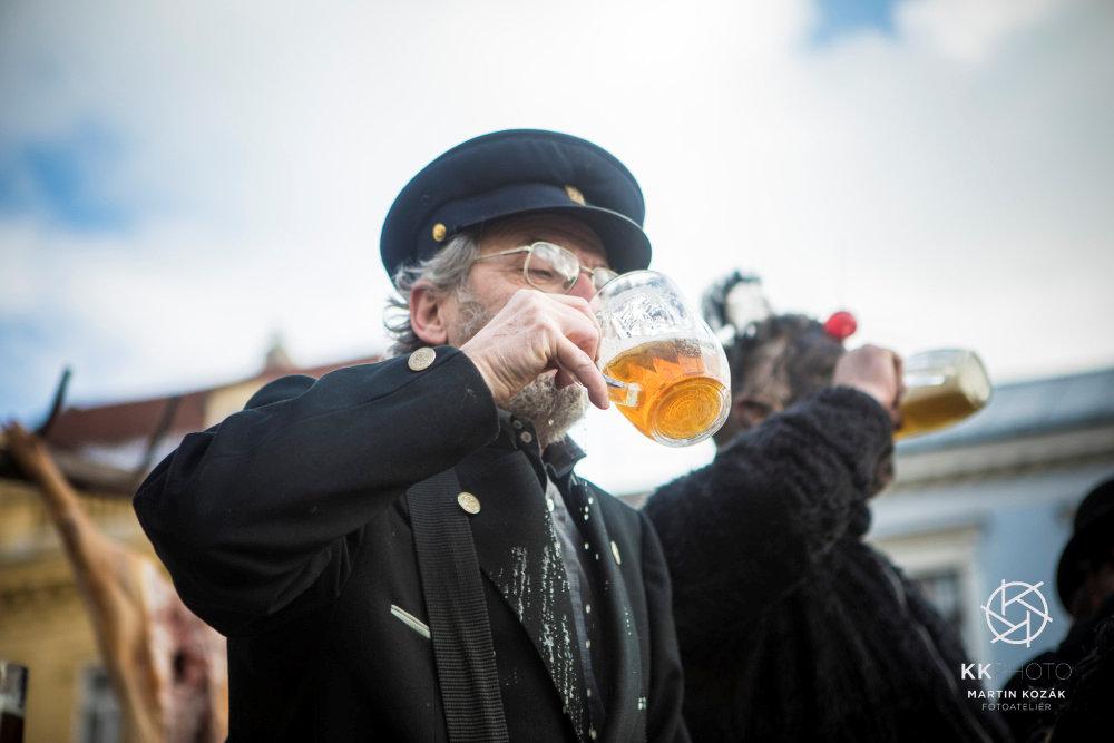 Fotil Martin: Masopustni pruvod v Jindrichove Hradci