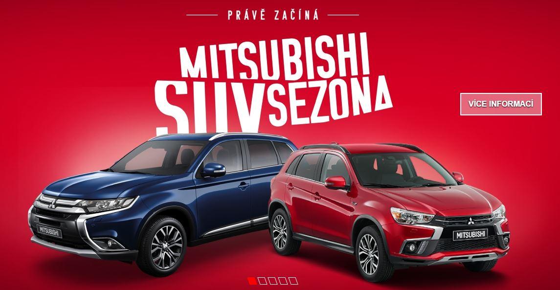 Mitsubishi SUV sezóna