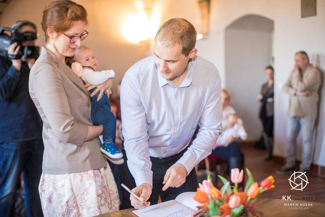 Dubnové vítání občánků (Foto: Martin Kozák)