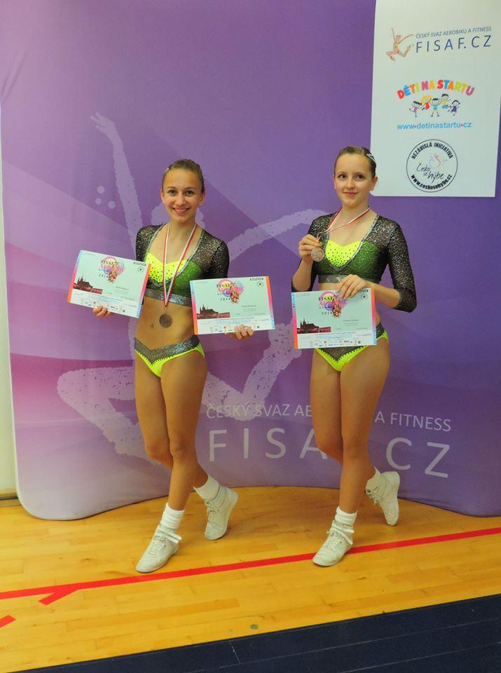 Duo 14-16 Rozálie Nováková, Kristýna Hudková