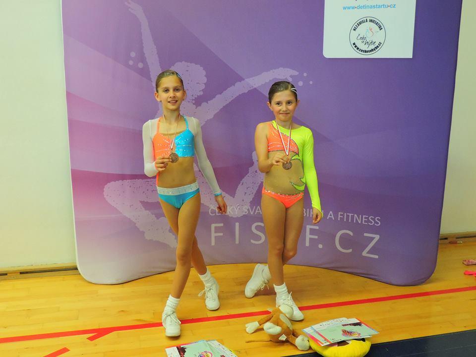 Duo 8-10 Berenika Nobáková, Lea Kubíčková