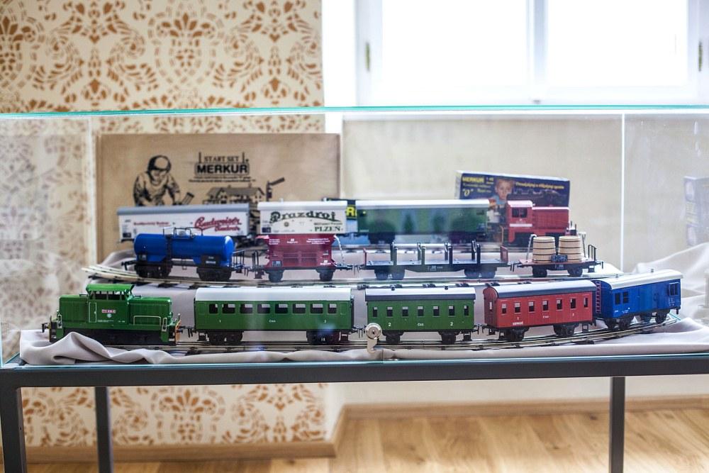 Expozice JHMD: Železnice hrou