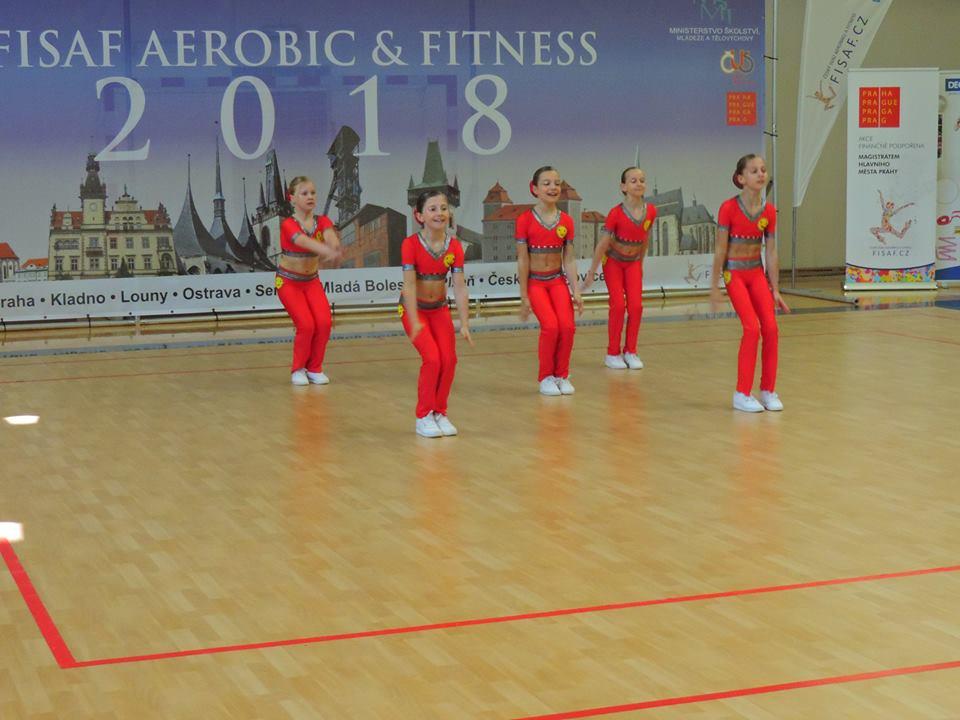 Fitness team aerobik 8-10