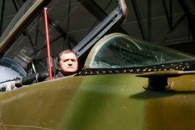 Jindřichův Hradec přivítá krále MiG-29 pilota Václava Vaška