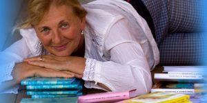 Spisovatelka a učitelka osobního růstu Zdeňka Jordánová v Jindřichově Hradci