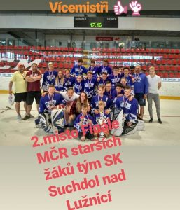 Starší žactvo SK Suchdol získalo stříbro na mistrovství ČR