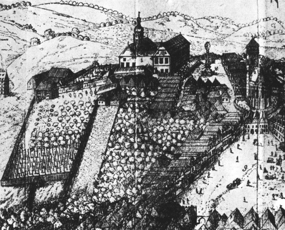 Historie dačického zámku