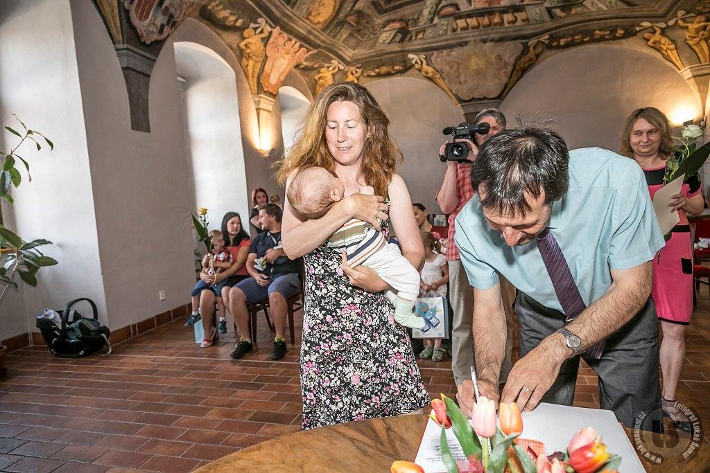 První červnové vítání občánků (Foto: Lukáš Šamal)