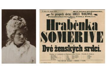 Zapomenutá herečka Adéla Wolfová v Muzeu Jindřichohradecka