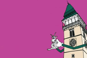 Házení kozla z věže v Dačicích