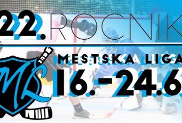 Městská liga v hokejbalu 2018